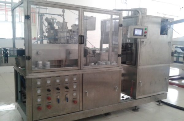 Beer can can sealing machine DP150