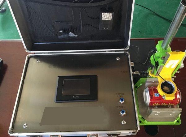 CNC non-destructive internal pressure detector