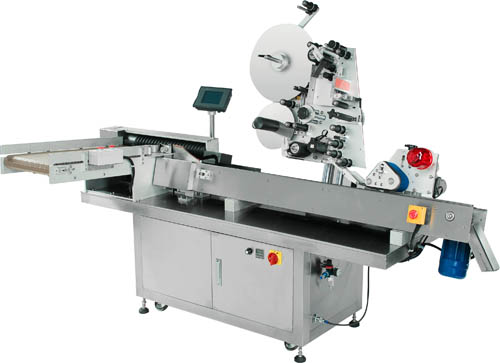 High-speed horizontal round bottle automatic labeling machine