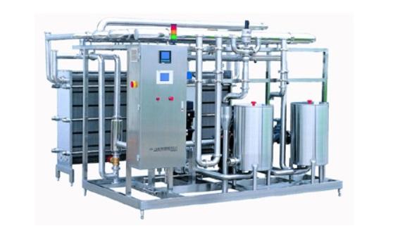 Plate type high temperature instant sterilizer