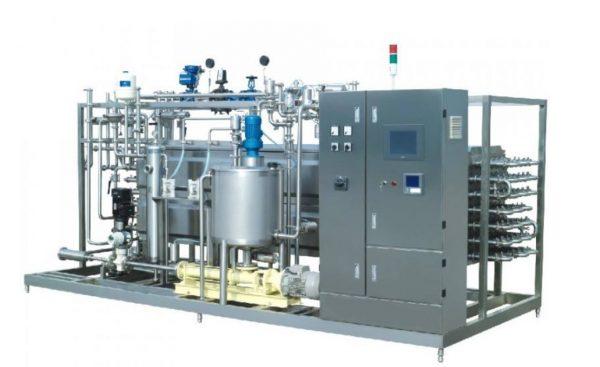 Tubular ultra-high temperature sterilization machine